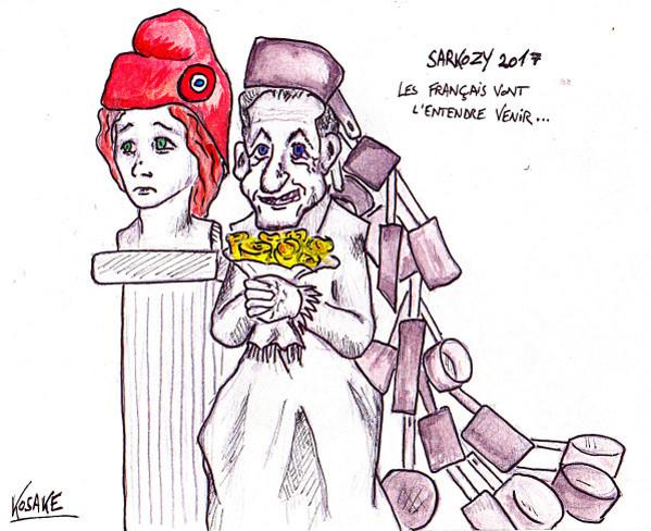 La trainee de Sarkozy