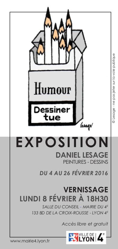 INVITATION - Exposition Daniel LESAGE 1