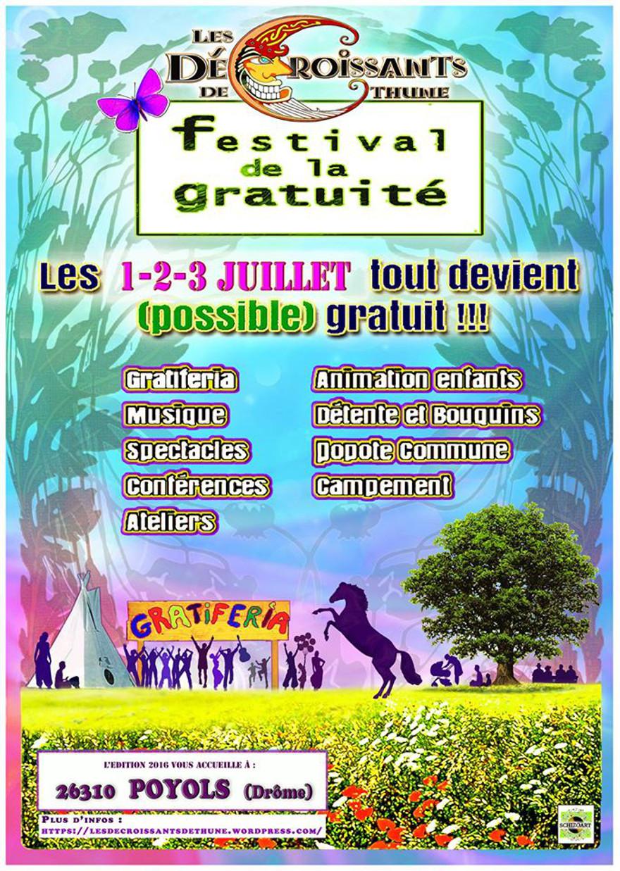 Affiche Festival de la gratuité(1)