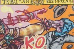 Street Art : Tribalman Wins !!! (par Spone)