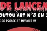 Agenda : Pot de lancement du Foutou'art n°8 en 3D, le 2 décembre à La Gryffe !!!