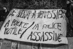 Photos d'un jour : «De Aulnay à Vénissieux la police mutile/ assassine» (par Gonzo)