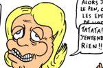 Crabouillons du jour : «Marine soutient la police» et «Justice populaire pour Le Pen/ Fillon» (par Piero)