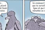 BD : «Mon gros pigeon n°2/ La malbouffe» (par Bouvard)
