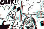 BD en 3D ! : «La Famille Grosblaireau/ Attrapez-les tous !» (par Puiss)