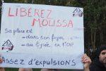 Actu : Rassemblement de soutien aux migrants devant le bâtiment du Grand Lyon (par Keul)