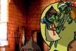 Littérature/ Histoire : L'emmurée (Légende Médiévale)/  5 – Et Krak, c'est le retour des croisés. (par Ann)