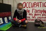 Reportage TV : Les étudiants de Lyon2 se mobilisent pour héberger une cinquantaine de migrants (par Denis et Sacha)
