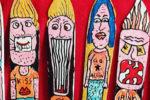 Les oeuvres du Jour : «Cartoon on knives – n°1» (par Robin Chuter)