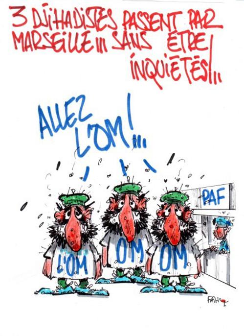 3 djihadistes à Marseille