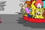 """Crabouillons du jour : """"La culture en péril"""" et  """"Le favori de la primaire"""" ( par T-Rox et Duck )"""