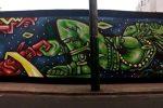 """Street art : """"Fresque à Lima"""" (par Spone)"""