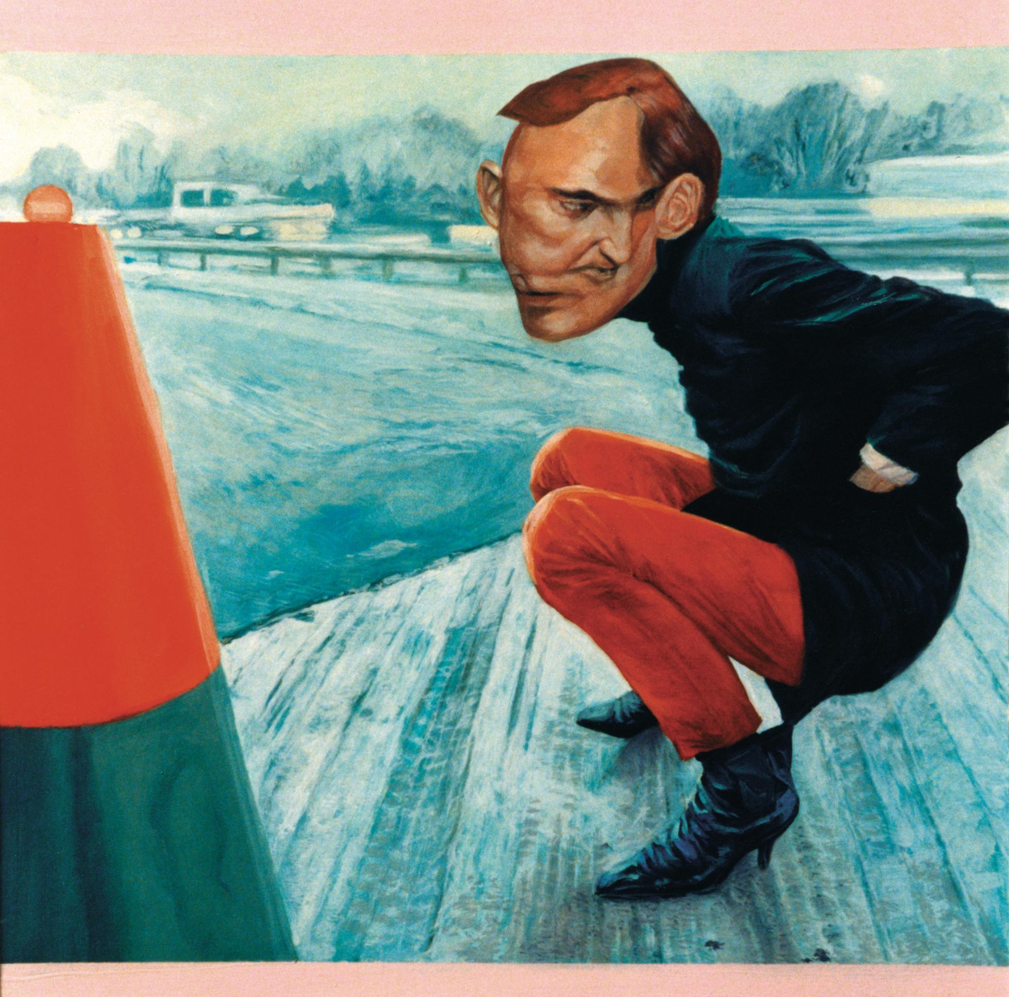 Portrait - 1998 huile sur toile 50x65cm2