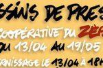Agenda : Vernissage de l'exposition de Bégé, Bésot, Lacombe et LB à la Coopérative du Zèbre !!!