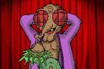 """Crabouillon animé : """"Moucheron fait son strip-tease !!!"""" (par Duck)"""