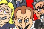 """Crabouillons d'actu / Présidentielle : """"Meluche président ??!"""" et """"On les veut tous !"""" (par Piero)"""