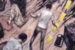 """L'oeuvre du jour : """"Le spectacle continue-1998"""" (par Ivan Brun)"""