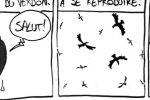 BD d'humour : Les vautours des Gorges du Verdon (par Puiss)