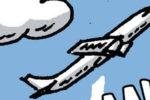 """BD/ actu insolite : """"Y'a t'il un pilote dans l'avion"""" (par Duck)"""