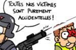 """Crabouillon du jour : """"La police avec nous !"""" (par Piero)"""