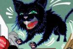 "Pub : Nouvelles cartes postales ""Black Cat"" !!!"