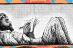 """Crabouillons en lutte : """"Soutien des dessinateurs du Foutou'art à Mumia Abu Jamal !"""" (par Trax, Spone, V, et Duck)"""